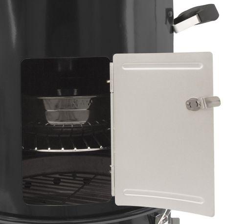 Dyna-Glo Compact Charcoal Bullet Smoker - High Gloss Black - image 6 of 9