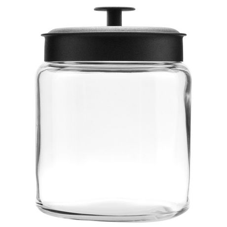 Anchor Hocking 96 Oz Montana Jar with Black Lid - image 1 of 1