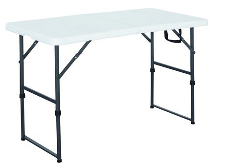 Gsc 4 centerfolding table white walmart canada