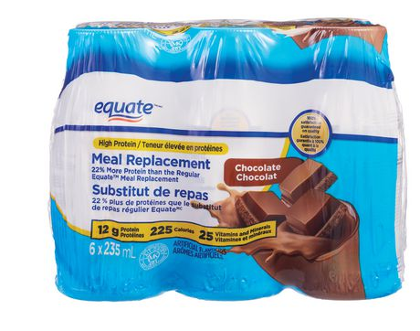 Equate Chocolate High Protein Meal Replacement - image 1 of 2