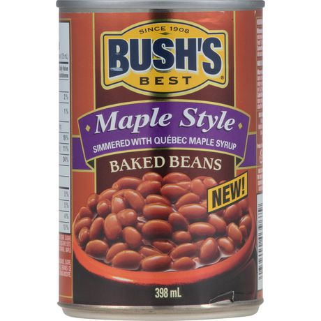 BUSH'S® Bush's Best Maple Style Baked Beans Can - image 2 of 4