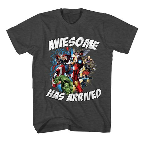 Boys Marvel Awesome T-shirt - image 1 of 2