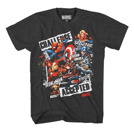 Boys Marvel Frame T-shirt - image 1 of 2