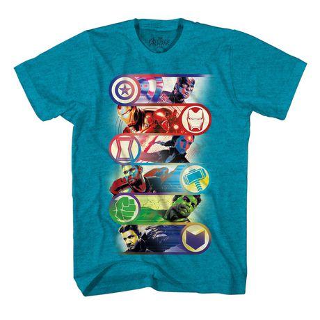 Boys Marvel Team Icons T-shirt - image 1 of 2