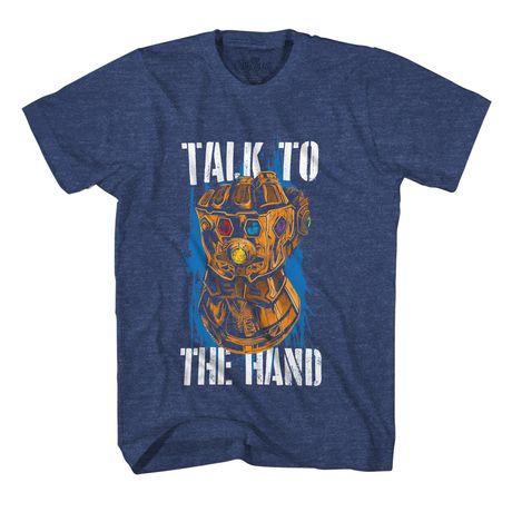 Boys Marvel Thanos T-shirt - image 1 of 2