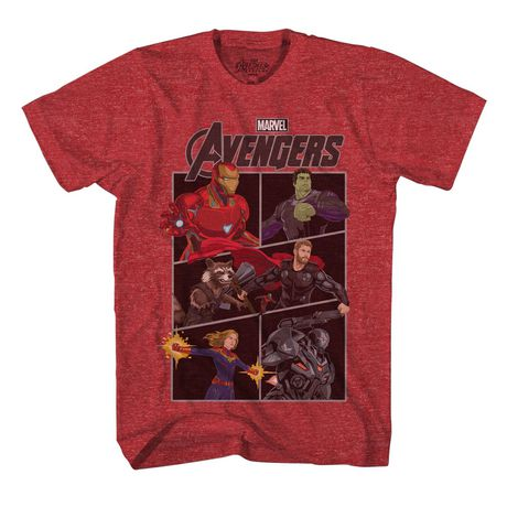 Boys Marvel Panel T-shirt - image 1 of 2