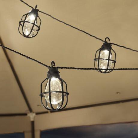 paradise gl21625bk outdoor lighting led string light walmart canada. Black Bedroom Furniture Sets. Home Design Ideas