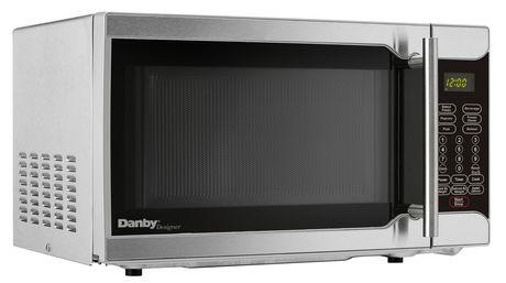 danby designer 07 cu ft stainless steel microwave