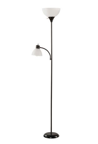 Floor lamp with reading light walmart canada for Floor lamp with reading light canada