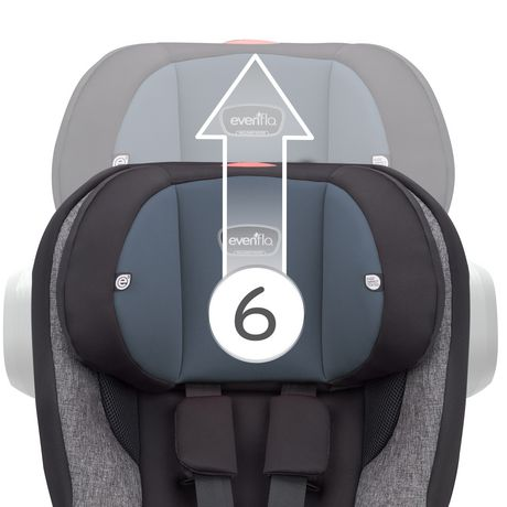 Evenflo® Proseries Stratos™ Convertible Car Seat - image 5 of 9