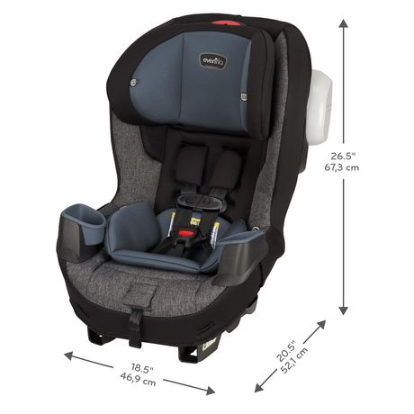 Evenflo® Proseries Stratos™ Convertible Car Seat - image 3 of 9