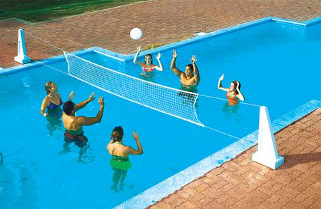 jouet combin de volley ball basket ball pool jam de swimline pour piscines creus es walmart. Black Bedroom Furniture Sets. Home Design Ideas