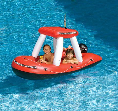 Jouet gonflable de piscine fireboat squirter de swimline walmart canada - Walmart matelas gonflable ...