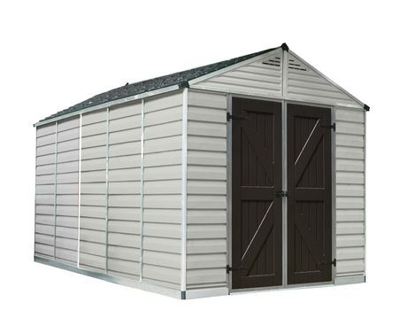 Cabanon de rangement de 6 pi x 12 pi skylight de palram for Cabanon de rangement