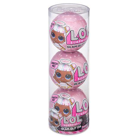 Lot de poupées L.O.L. Surprise Glam Glitter, paquet de 3 - image 1 de 4