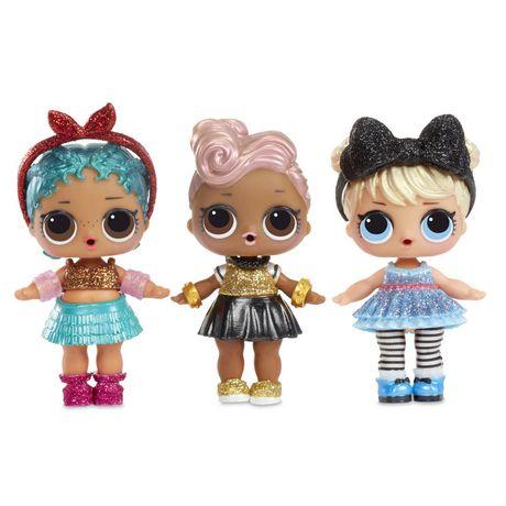 Lot de poupées L.O.L. Surprise Glam Glitter, paquet de 3 - image 4 de 4