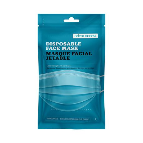Disposable Face Masks – Travel Friendly - image 1 of 7