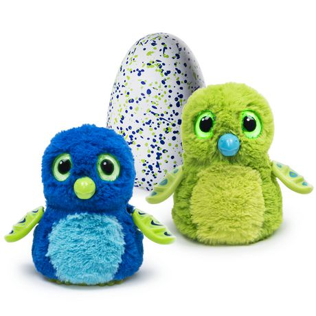 Hatchimals Interactive Creature Draggle Blue/Green Hatching Egg Toy - image 1 of 7