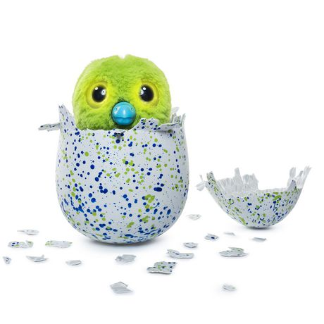 Hatchimals Interactive Creature Draggle Blue/Green Hatching Egg Toy - image 5 of 7