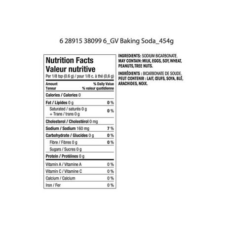 Great Value Pure Baking Soda - image 2 of 2