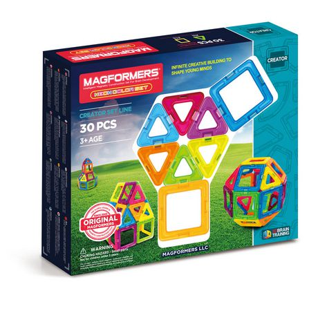 Magformers Neon 30 Pc Set - image 1 of 1