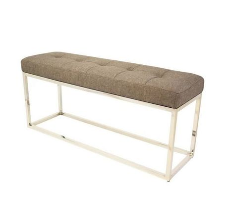 """Cisne Bench 40"""" in Grey - image 1 of 1"""