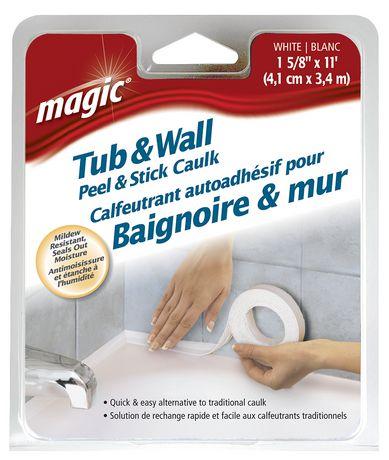 Magic Tub Amp Wall Peel Amp Stick Sealer Trim White