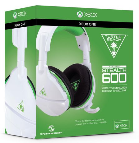 TURTLE BEACH® STEALTH 600 White Wireless Surround Sound Gaming Headset for  Xbox One