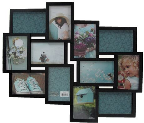 warner 12 opening collage black frame