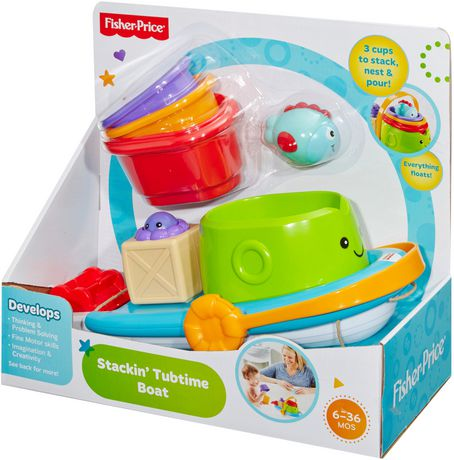 Fisher-Price Stackin' Tubtime Boat - image 4 of 5