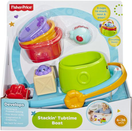 Fisher-Price Stackin' Tubtime Boat - image 5 of 5