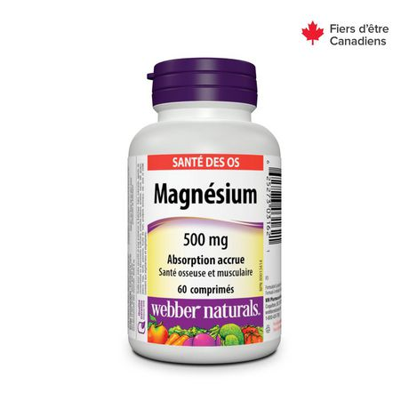 Webber Naturals® Magnesium, Enhanced  Absorption, 500 mg - image 2 of 4