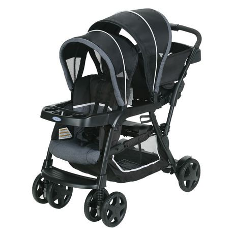 graco ready2grow click connect stand and ride stroller. Black Bedroom Furniture Sets. Home Design Ideas