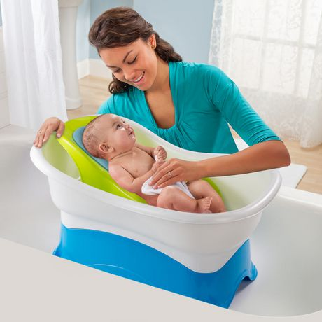 summer infant right height bath center tub. Black Bedroom Furniture Sets. Home Design Ideas