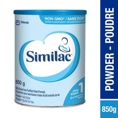 Similac Step 1 Non-GMO Powder Baby Formula, 850 g - image 1 of 9