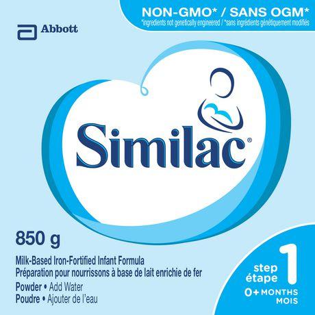 Similac Step 1 Non-GMO Powder Baby Formula, 850 g - image 2 of 9