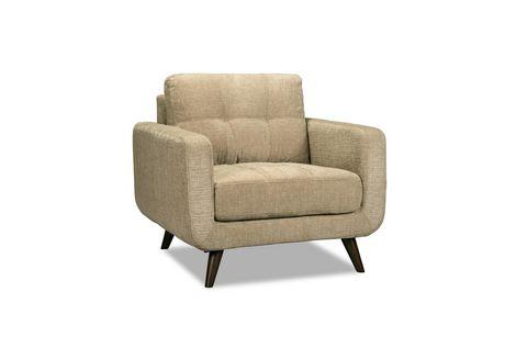 Topline Home Furnishings 3 pc Beige Living Room Set - image 2 of 4