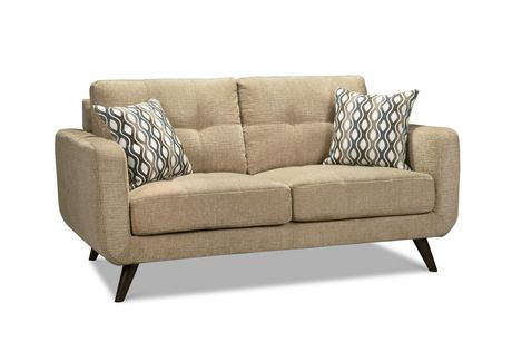 Topline Home Furnishings 3 pc Beige Living Room Set - image 3 of 4