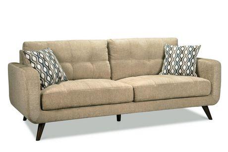 Topline Home Furnishings 3 pc Beige Living Room Set - image 4 of 4