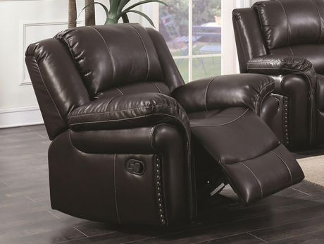 Topline Home Furnishings Brown Rocker Recliner - image 1 of 1