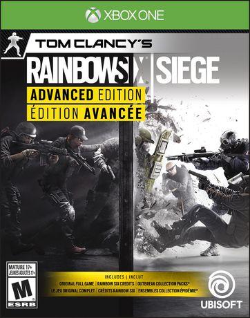 Ubisoft Tom Clancy's Rainbow Six: Siege Advanced Edition Xbox One Game - image 1 of 6