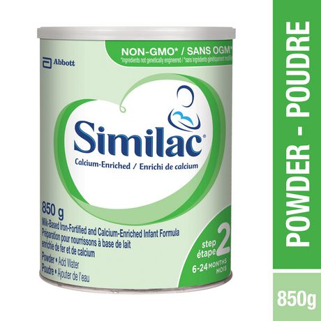 Similac Step 2 Calcium-Enriched Baby Formula Powder, 850 g - image 1 of 9