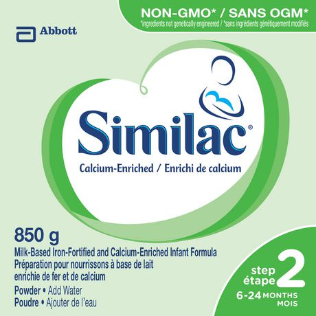 Similac Step 2 Calcium-Enriched Baby Formula Powder, 850 g - image 2 of 9