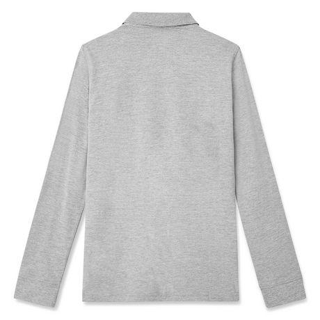 George Boys' Long Sleeve Uniform Polo - image 2 of 2