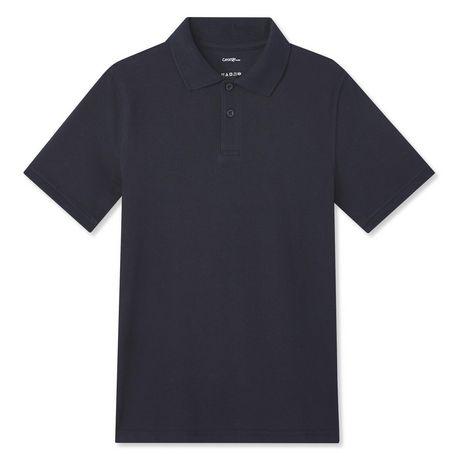 George Boys' Short Sleeve Uniform Polo - image 1 of 2