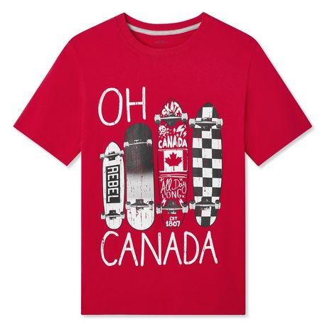 George Boys' Canada Day T-Shirt - image 1 of 2