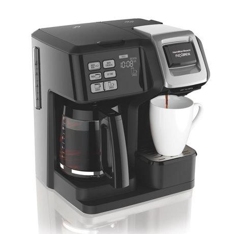 Hamilton Beach 5 Cup Coffee Maker Hamilton Beach FlexBrew 2-Way Coffee Maker   Walmart Canada