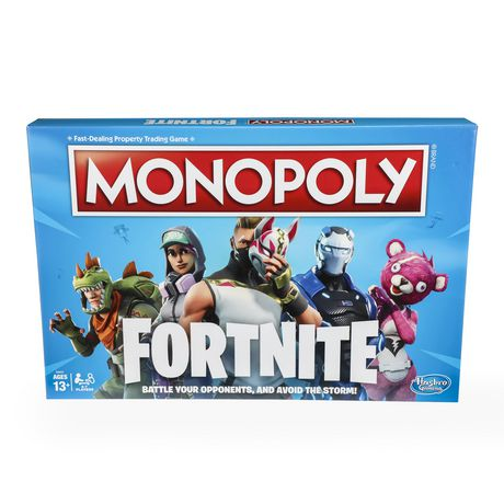Monopoly: Fortnite Edition Board Game Inspired by Fortnite Video Game Ages 13 and Up - image 1 of 3
