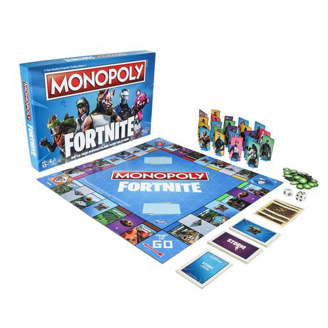 Monopoly: Fortnite Edition Board Game Inspired by Fortnite Video Game - image 3 of 3