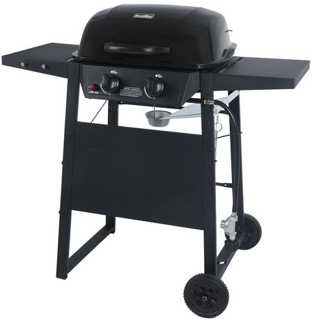 RevoAce 2-Burner Propane Gas Grill with Side Shelves